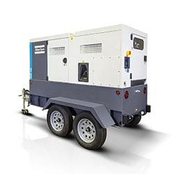 smith power atlas copco mobile diesel generators